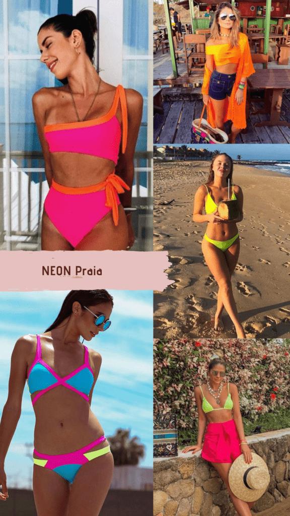Neon ze se na praia