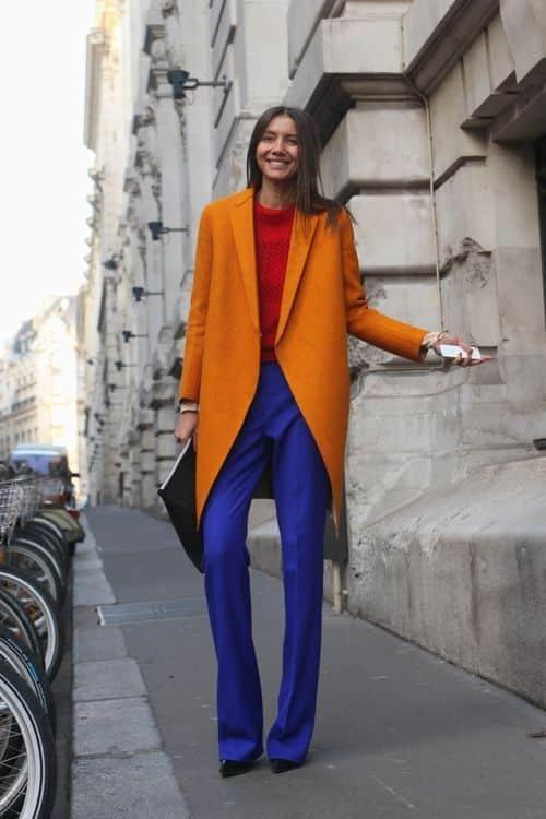 Orange Russet | Nebulas Blue | Valiant Poppy