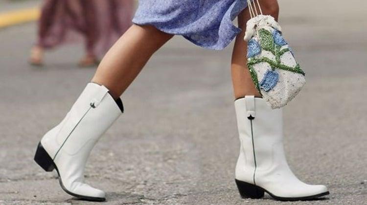 Moda Inverno: bota cowboy feminina