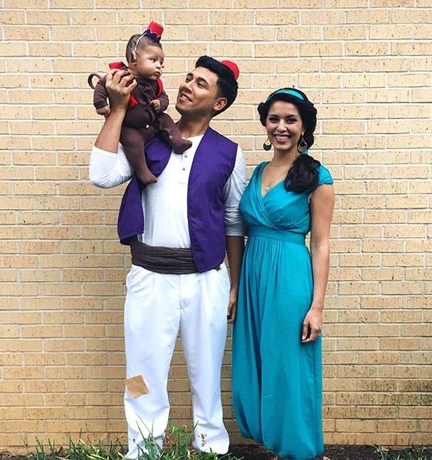 Fantasias de Halloween Família Aladdin
