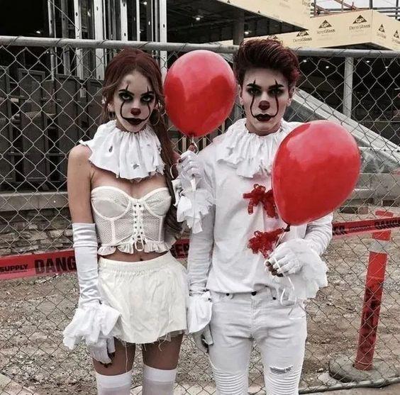Fantasia de Halloween It a Coisa
