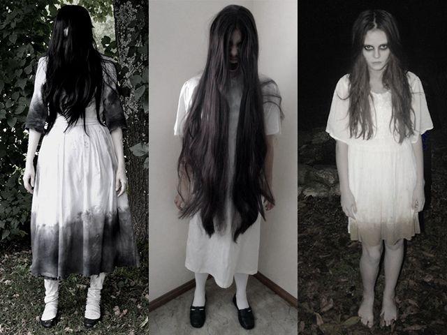 Fantasia de Halloween Samara