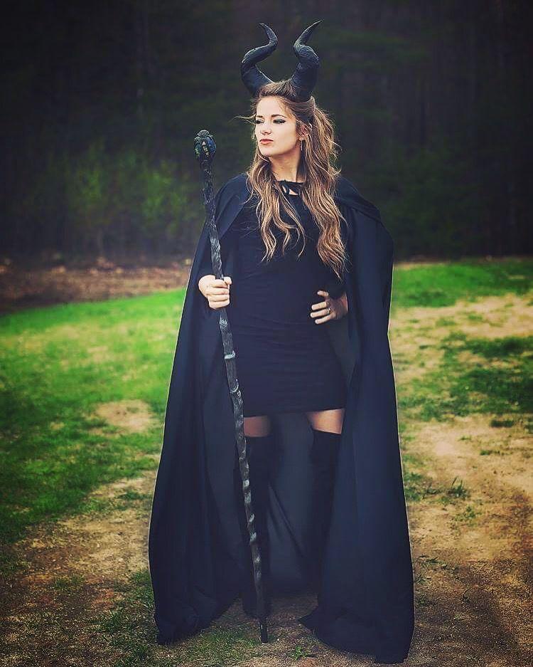Fantasia de Halloween Malévola